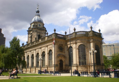 Birmingham Cathedral Building